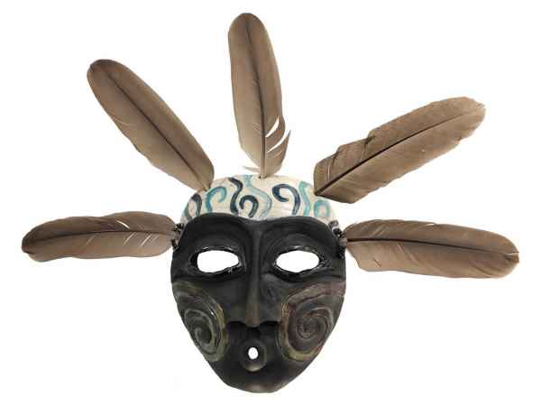 Spiral Shadow Spirit Mask - [Front] - LP295